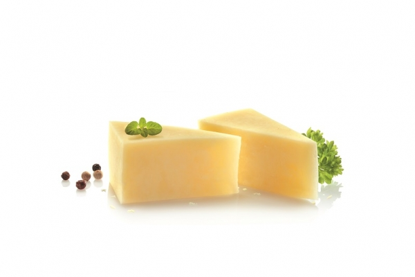 Organic Yellow cheese Kashkaval from cow`s milk