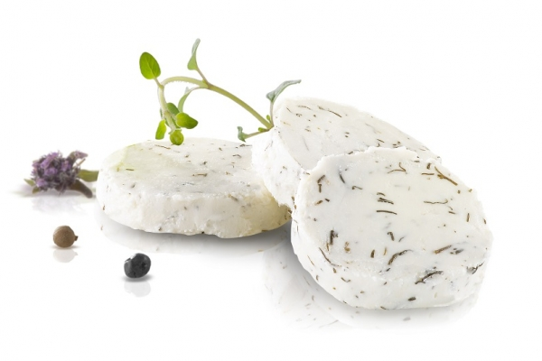 Organic Fresh Cow Cheese with Herbs