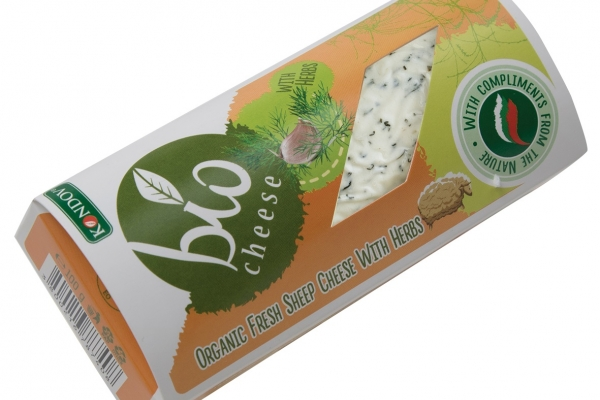 Organic Fresh Sheep Cheese with Herbs