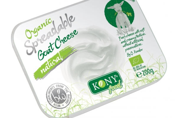 Organic Spreadable Goat cheese natural
