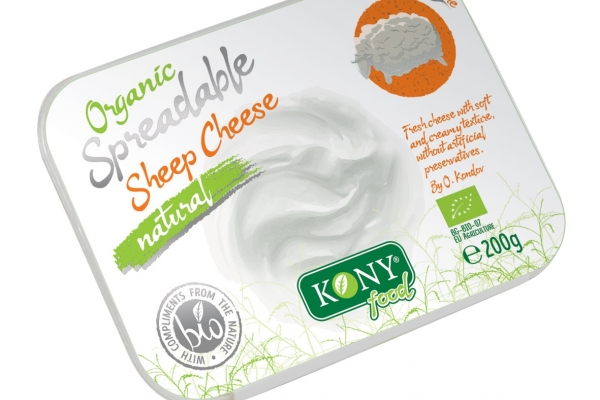 Organic Spreadable Sheep cheese natural